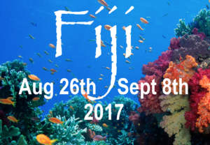 Fiji Trip- Aug 26th- Sept 8th 2017